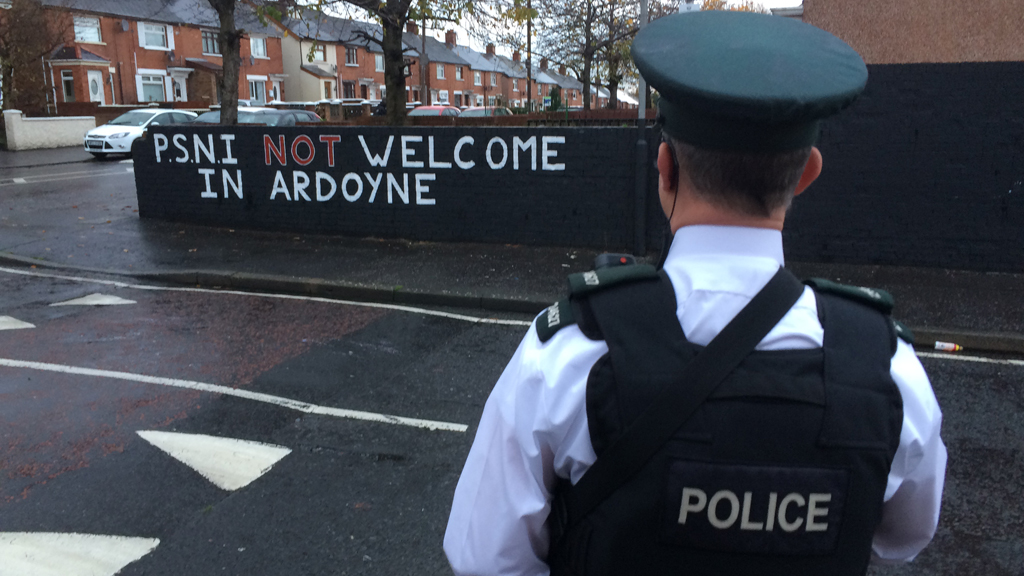 Police cuts a stark warning from Northern Ireland