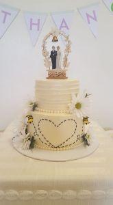 Honeybee Wedding Cake