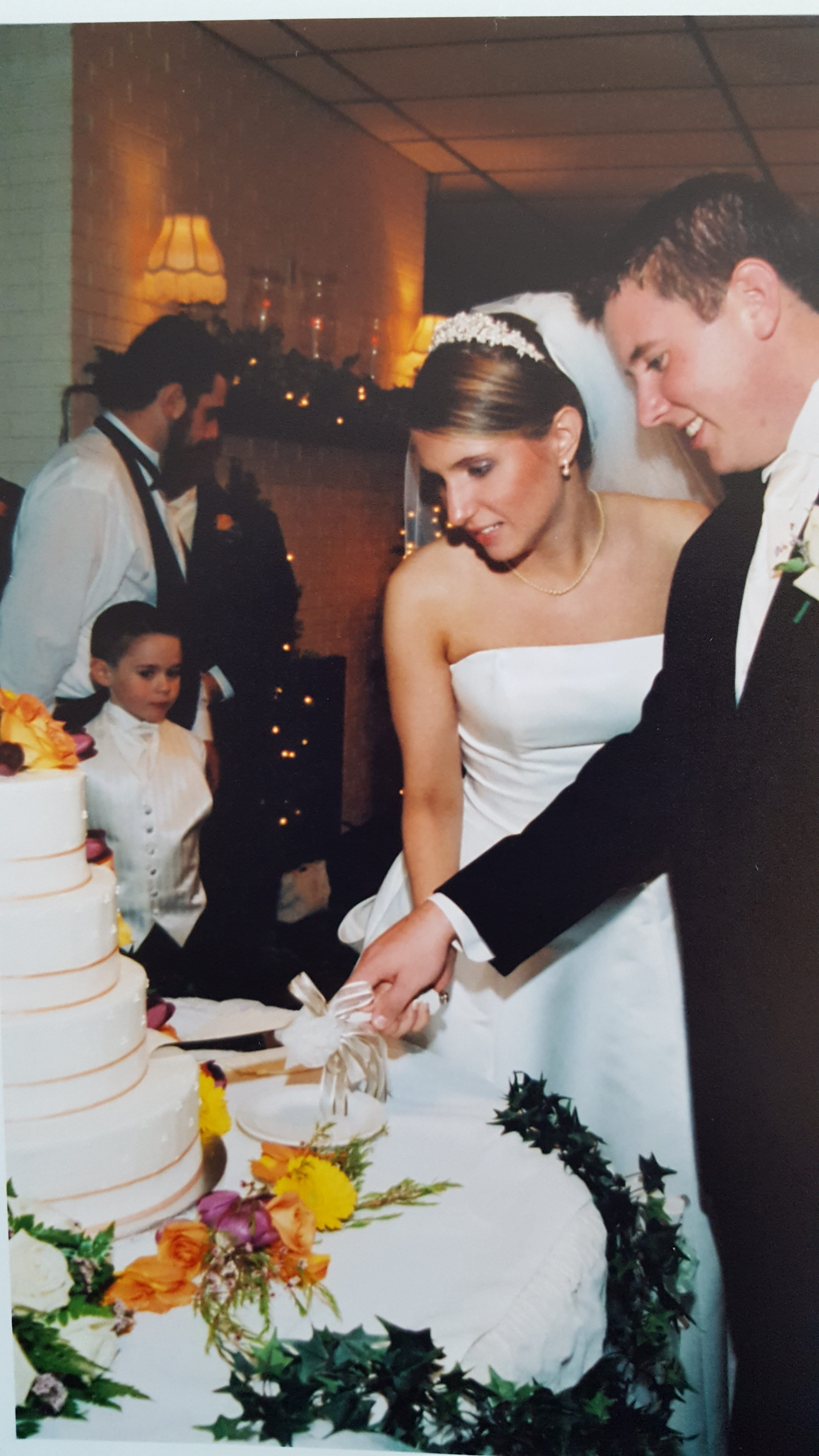 Wedding Cakes of the Past and (Imaginary) Future