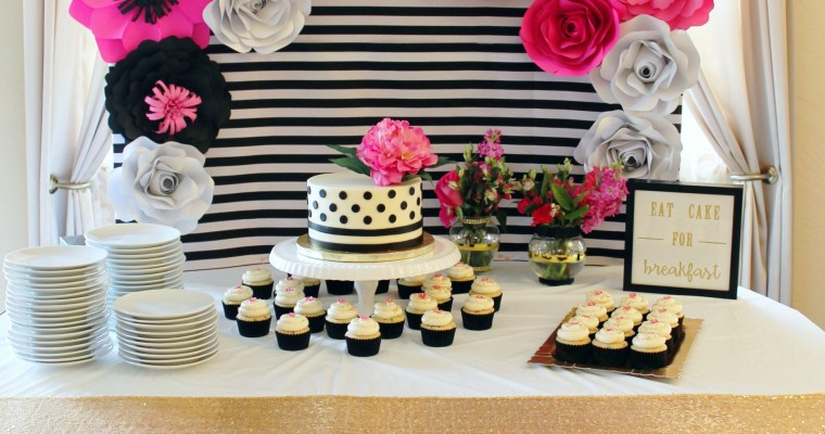 Kate Spade Inspired Bridal Shower at Greenhouse Winery in Irwin, PA