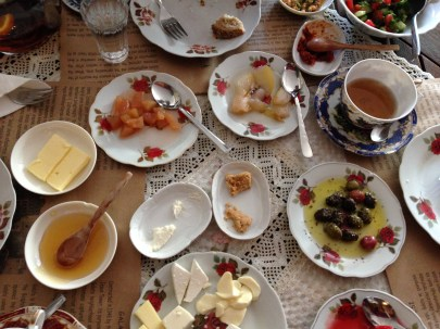 we love Turkish breakfasts