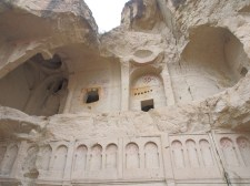 Ancient church carved from the rock