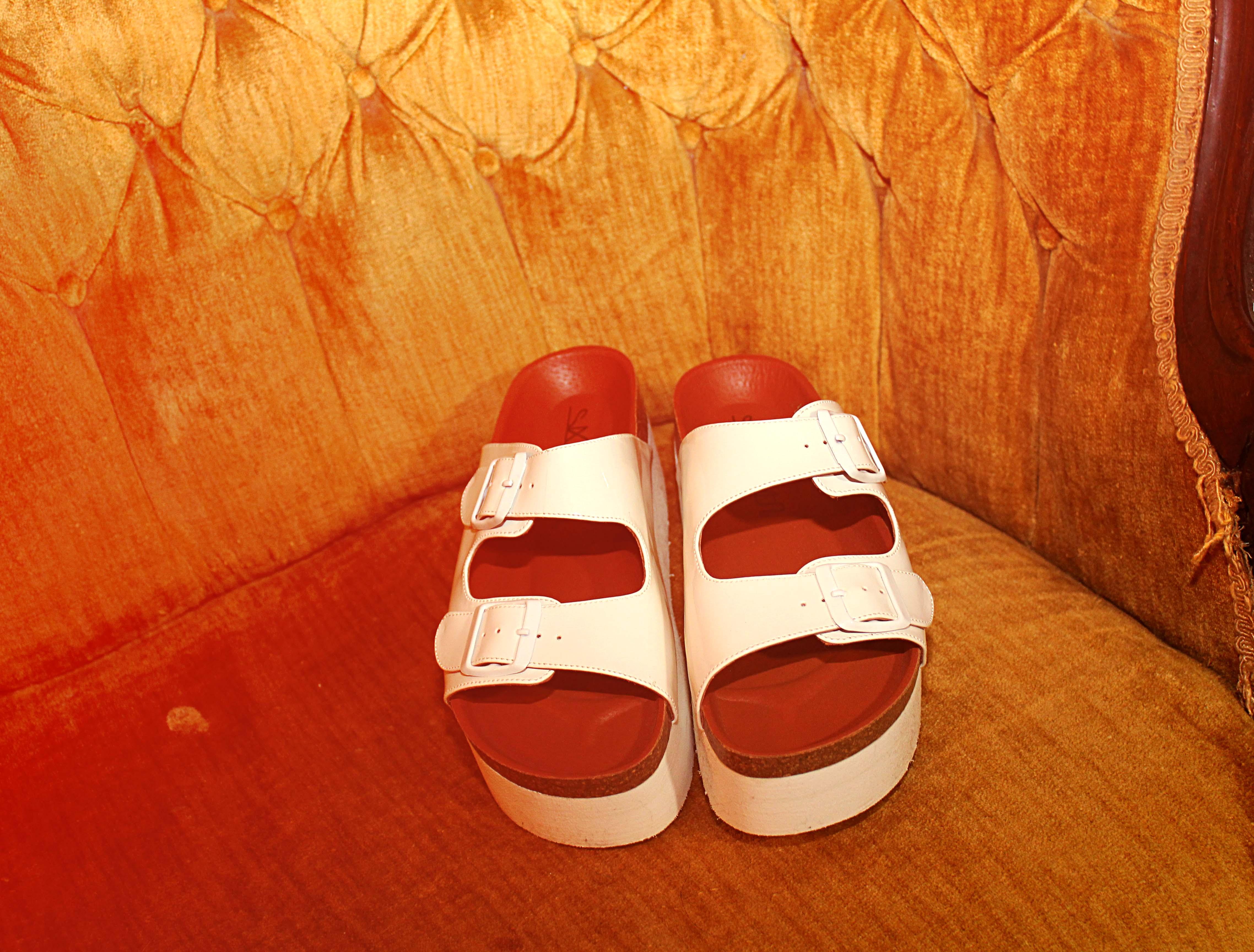 SixtySeven Indigo Sandals