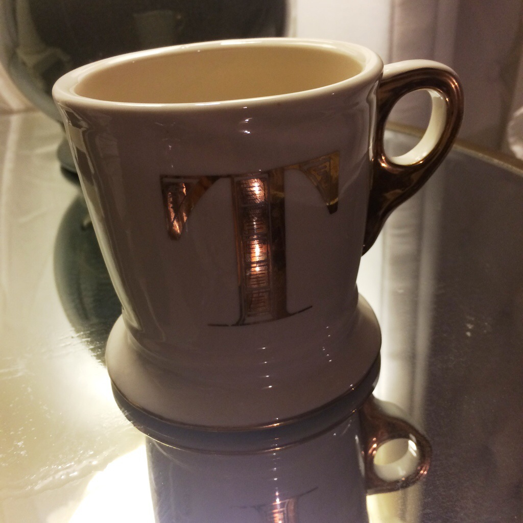 blog redesign: Anthropologie Mug