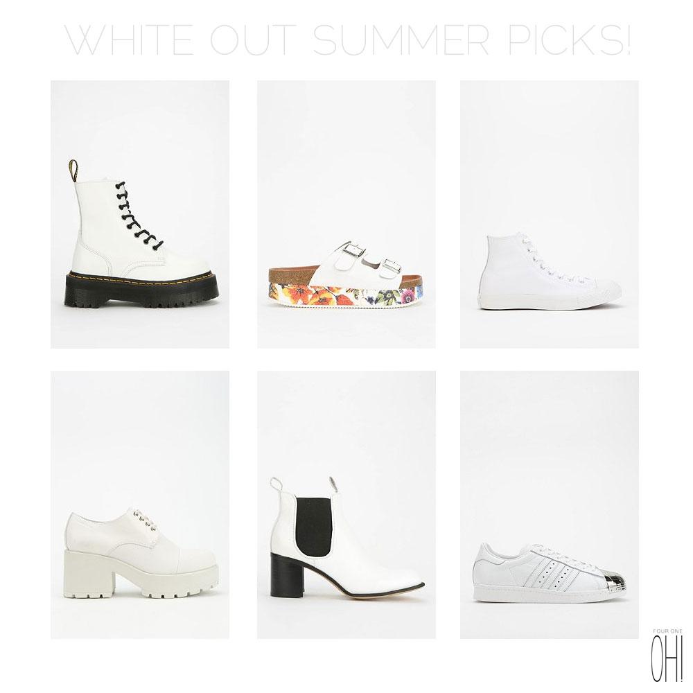 White Shoes - Baltimore Fashion