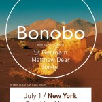 Bonobo The Brooklyn Mirage poster