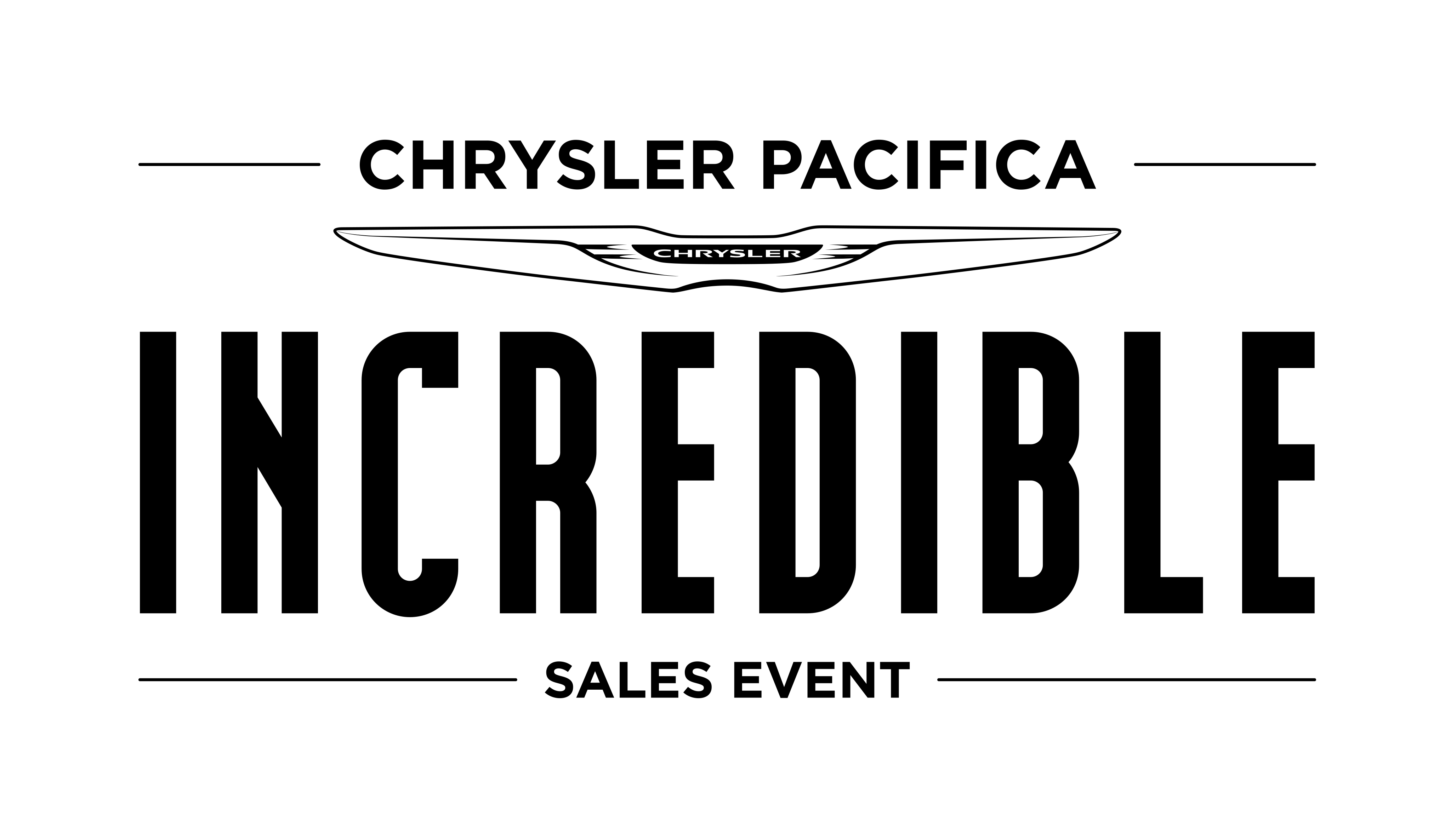 Incredible Chrysler Pacifica Sales Event near San