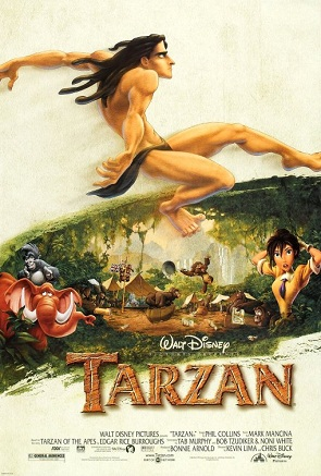 Disney Movie Adventure Tarzan Four Parks One World