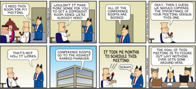 Scott Adams Dilbert comic strip