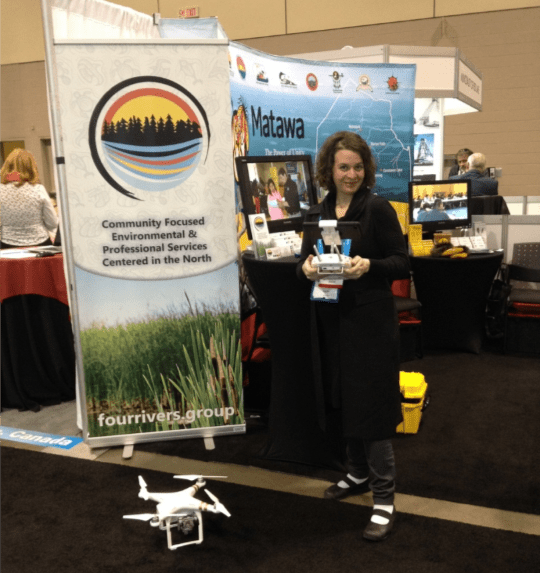 Four Rivers Drone at PDAC