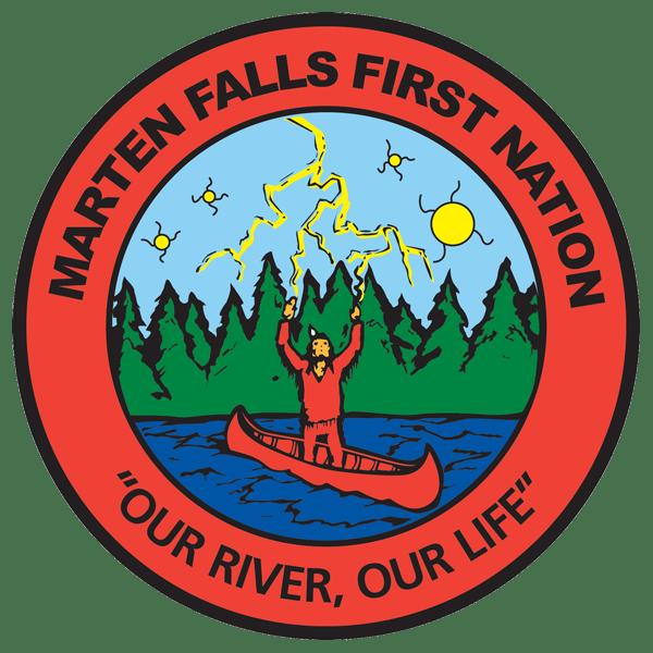 Marten Falls transparent