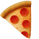 Actuel émoji Pizza