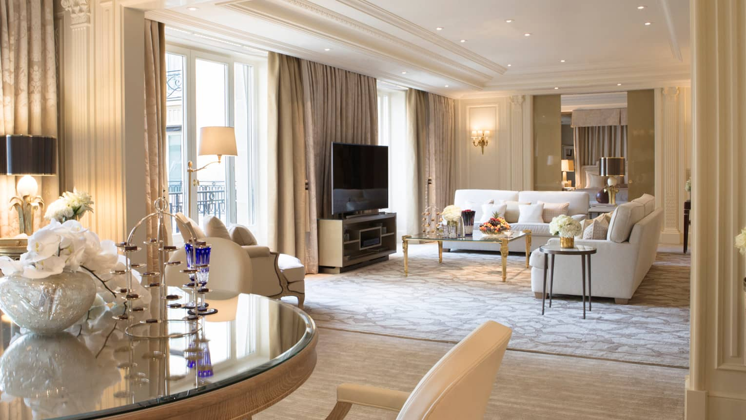 Global Views Home Decor Presidential Suite Paris | Four Seasons Hotel George V