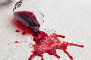 Wine Spilled Carpet