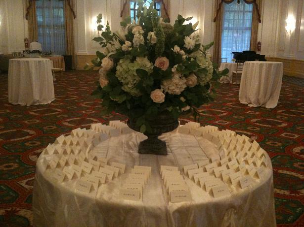 head table seating order
