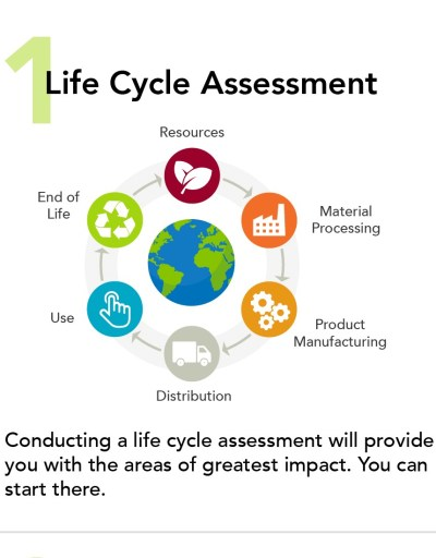 Life Cycle Assessment Figure