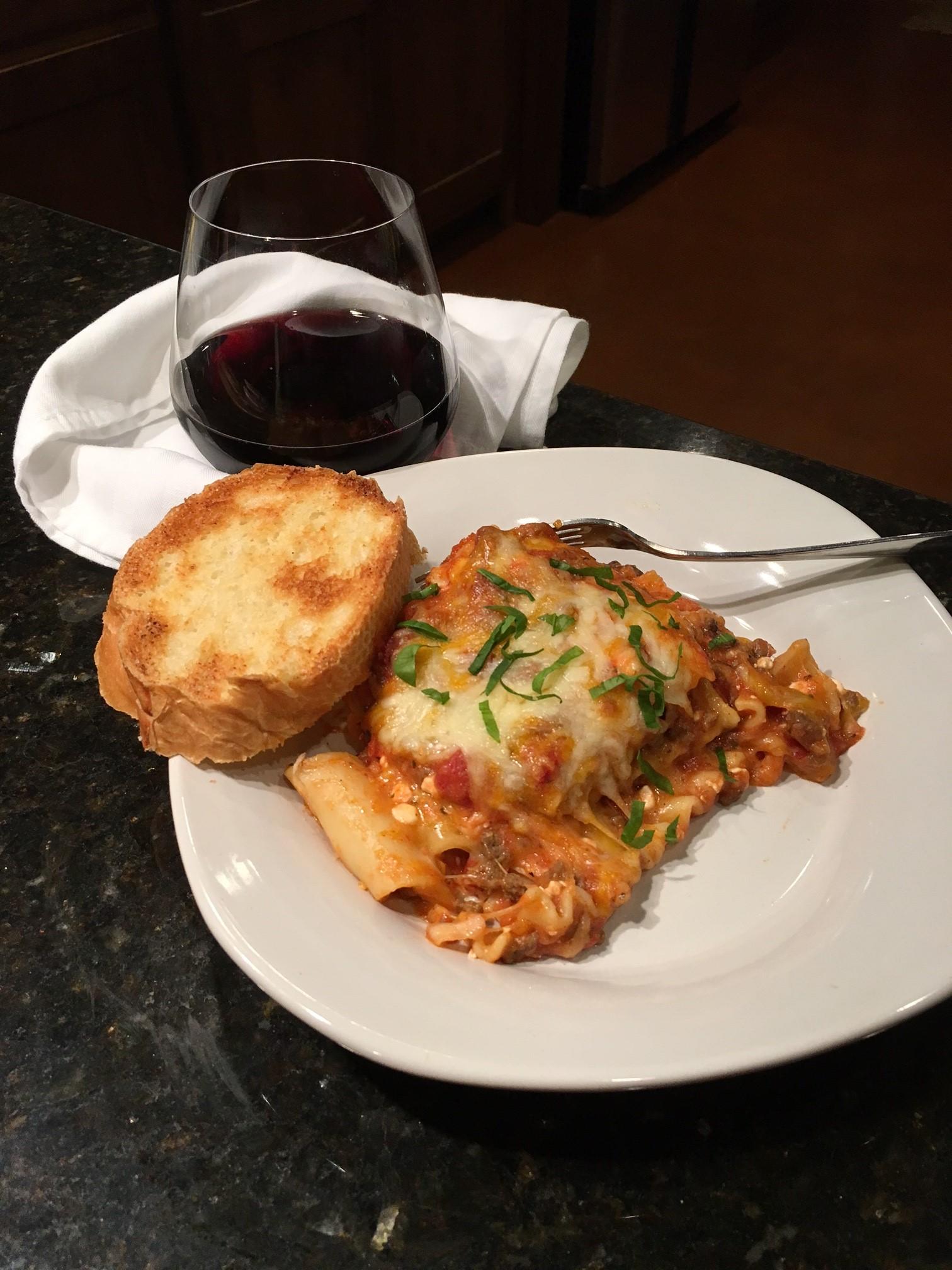 Lasagna in the Highest