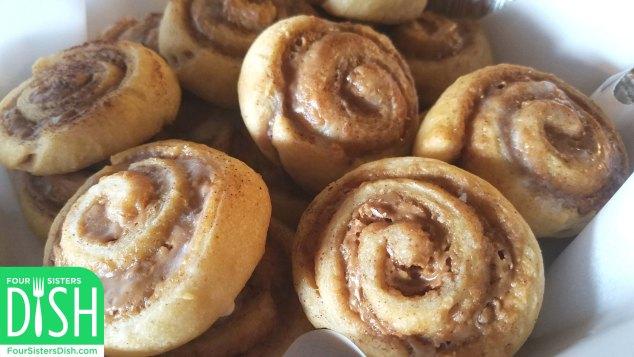 Cinnamon Cookie Butter Pinwheels