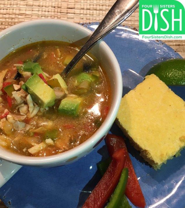 Easy One-Pot Tortilla Soup