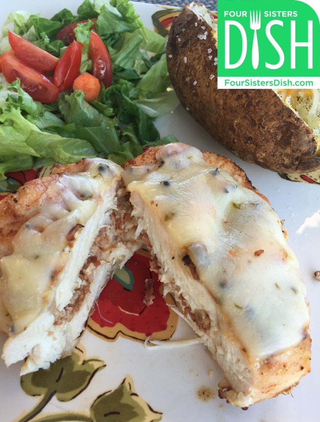 Cotija and Bacon Stuffed Chicken Breast