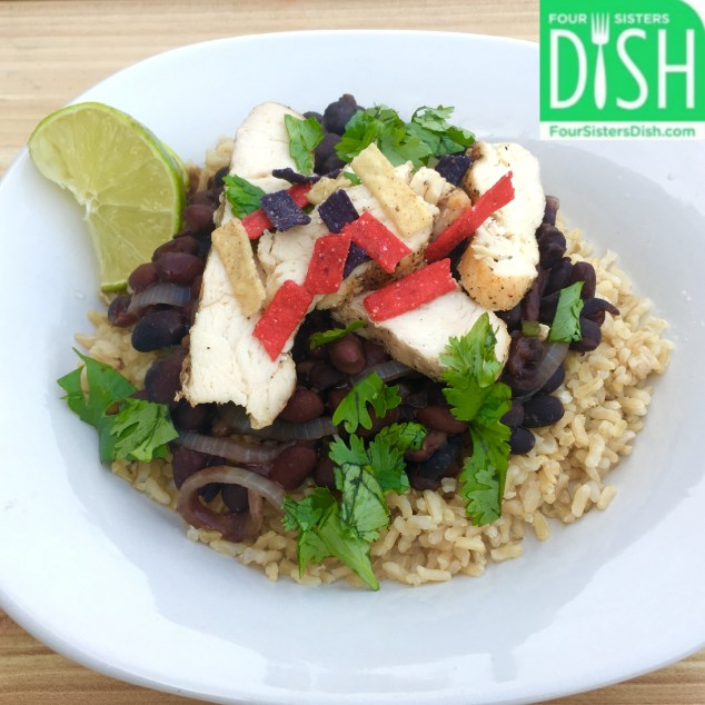 Spicy Chicken with Rice & Black Beans