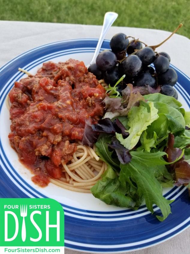 Super Duper Spaghetti with Beef