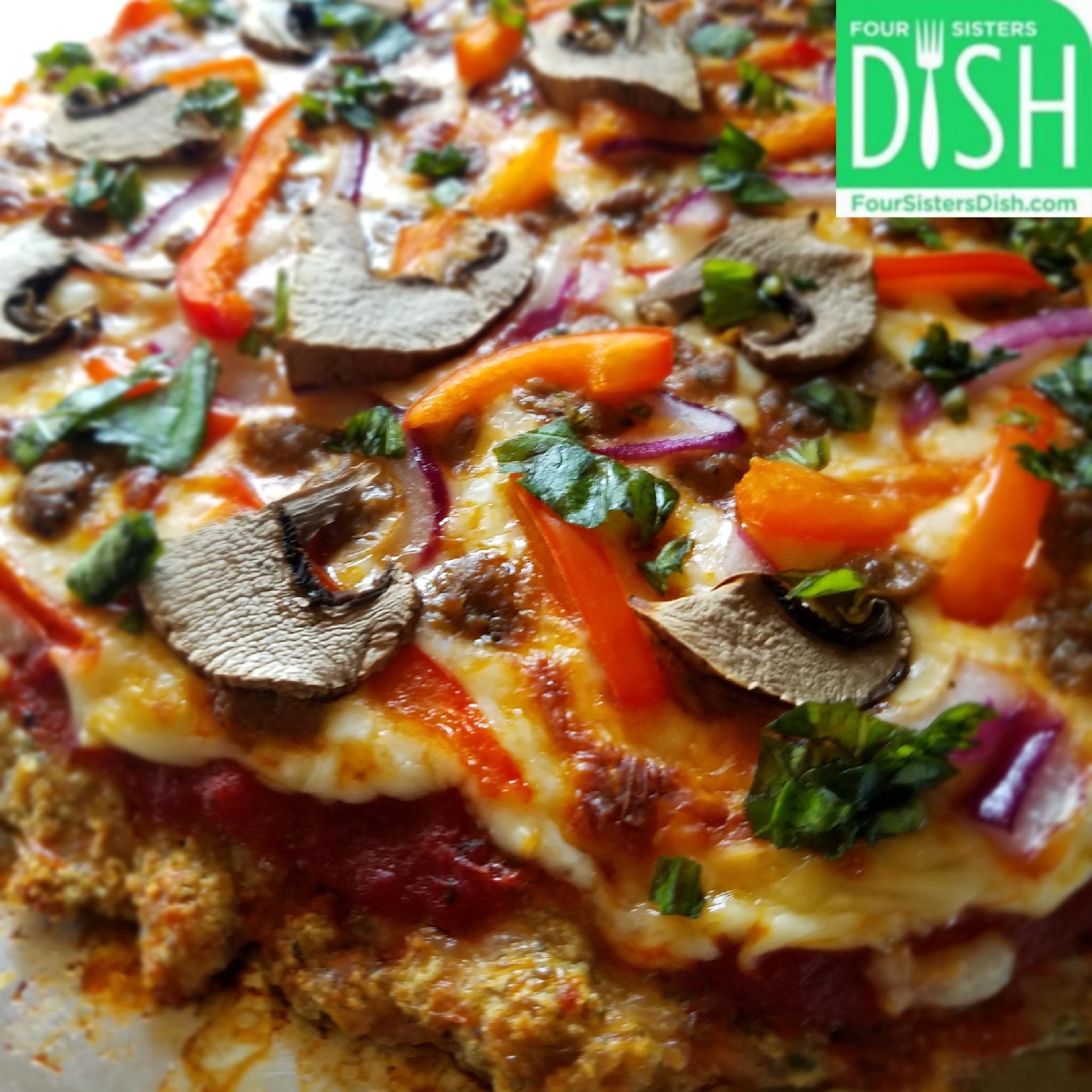 Meatza Crust Pizza