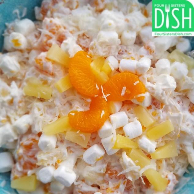 Healthier Heavenly Hash (a.k.a. Ambrosia Salad)
