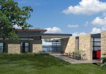 Lake Home Plan Modern House Design