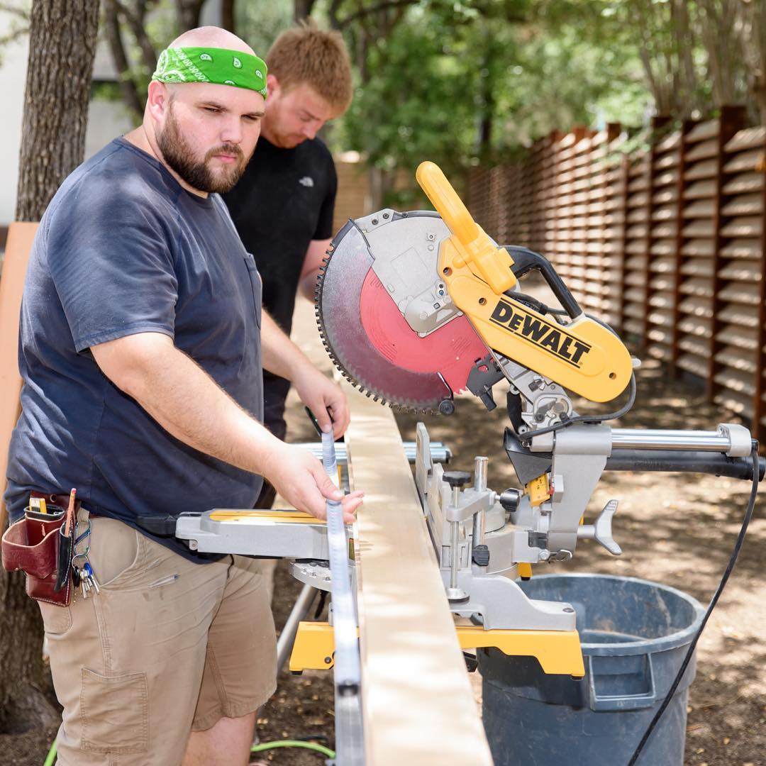 are its dedicated people. We're grateful to have these men expressing their sense of perfection on our build. Built by @foursquarebuilders Trim Carpentry by Photo by @redpantsstudio