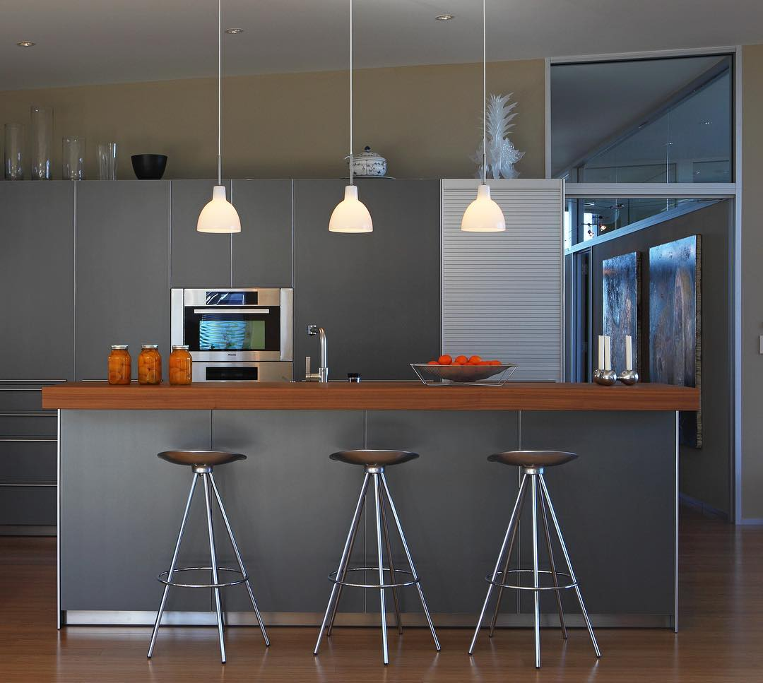 Bulthaup kitchen install at our Bluff House project. Respect for German engineering. Built by @foursquarebuilders