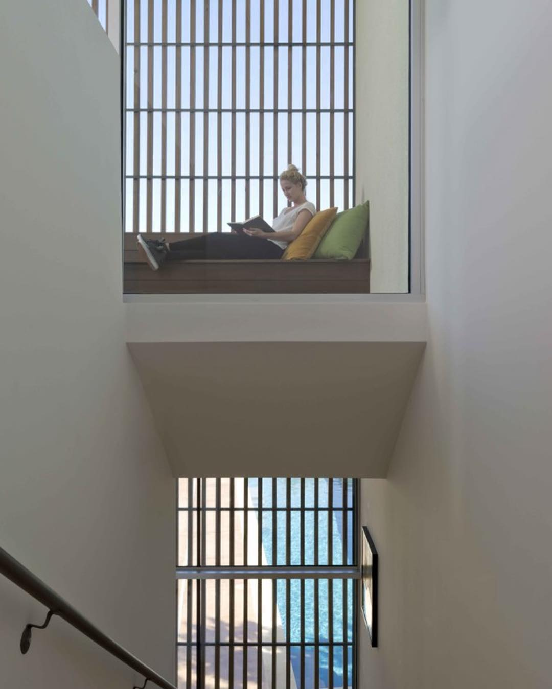 Cozy space to read and contemplate. Built by @foursquarebuilders Designed by @webberstudio