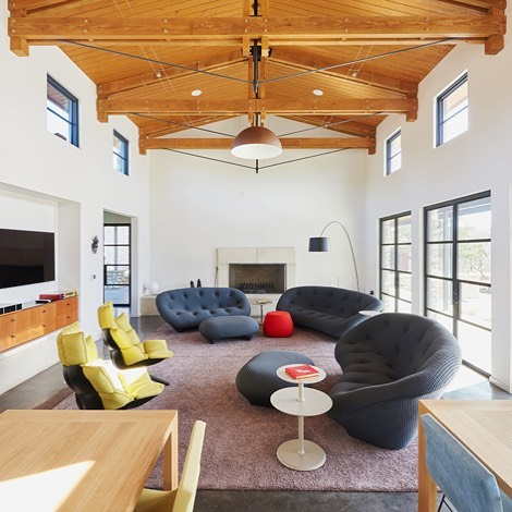 Amazing gathering space at our Driftwood project. Built by @foursquarebuilders