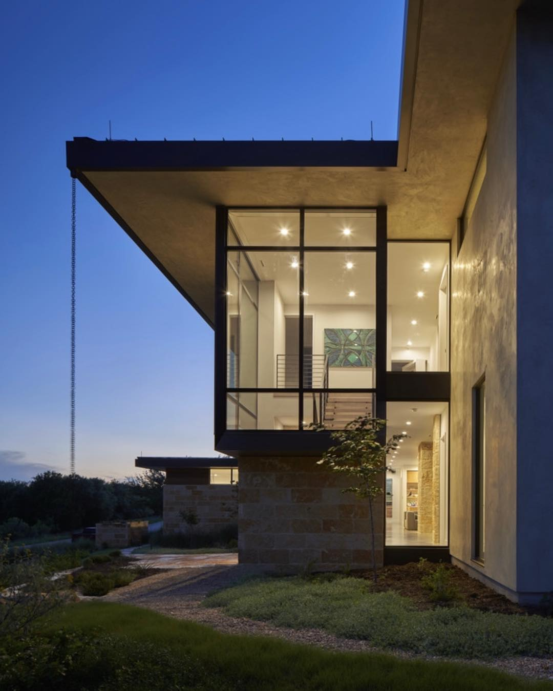 @dc_architecture designed home for our clients on Lake Travis.