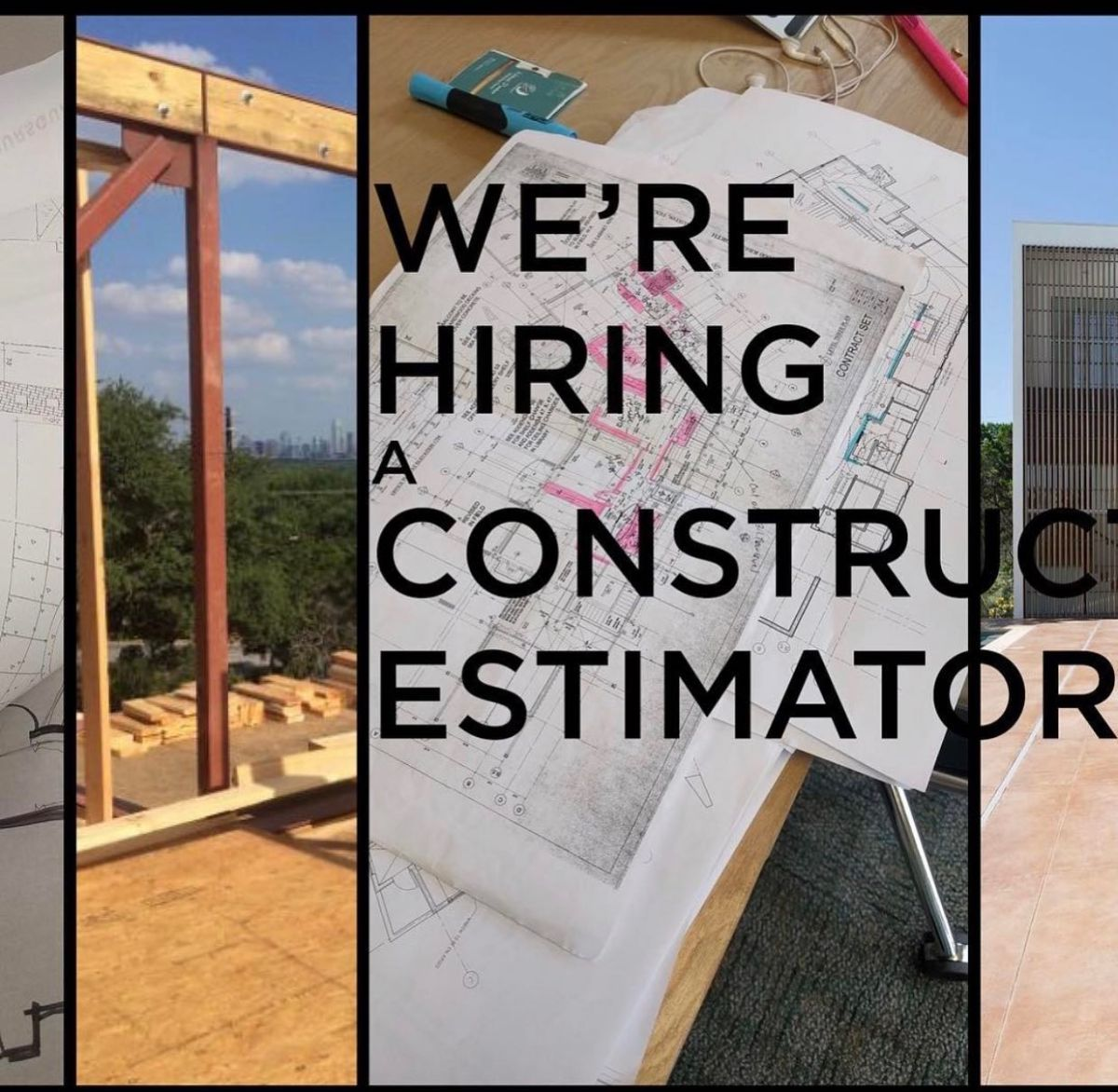 We're in search for a great team member who's dedicated to the craft of construction estimating. If you or someone you know is looking to work on challenging architecturally significant projects then please contact us.