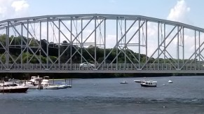 Haddam Bridge Curve