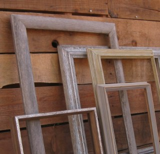 Assorted seasoned frames
