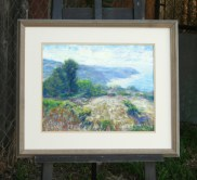 Weathered wood frame from limited stock
