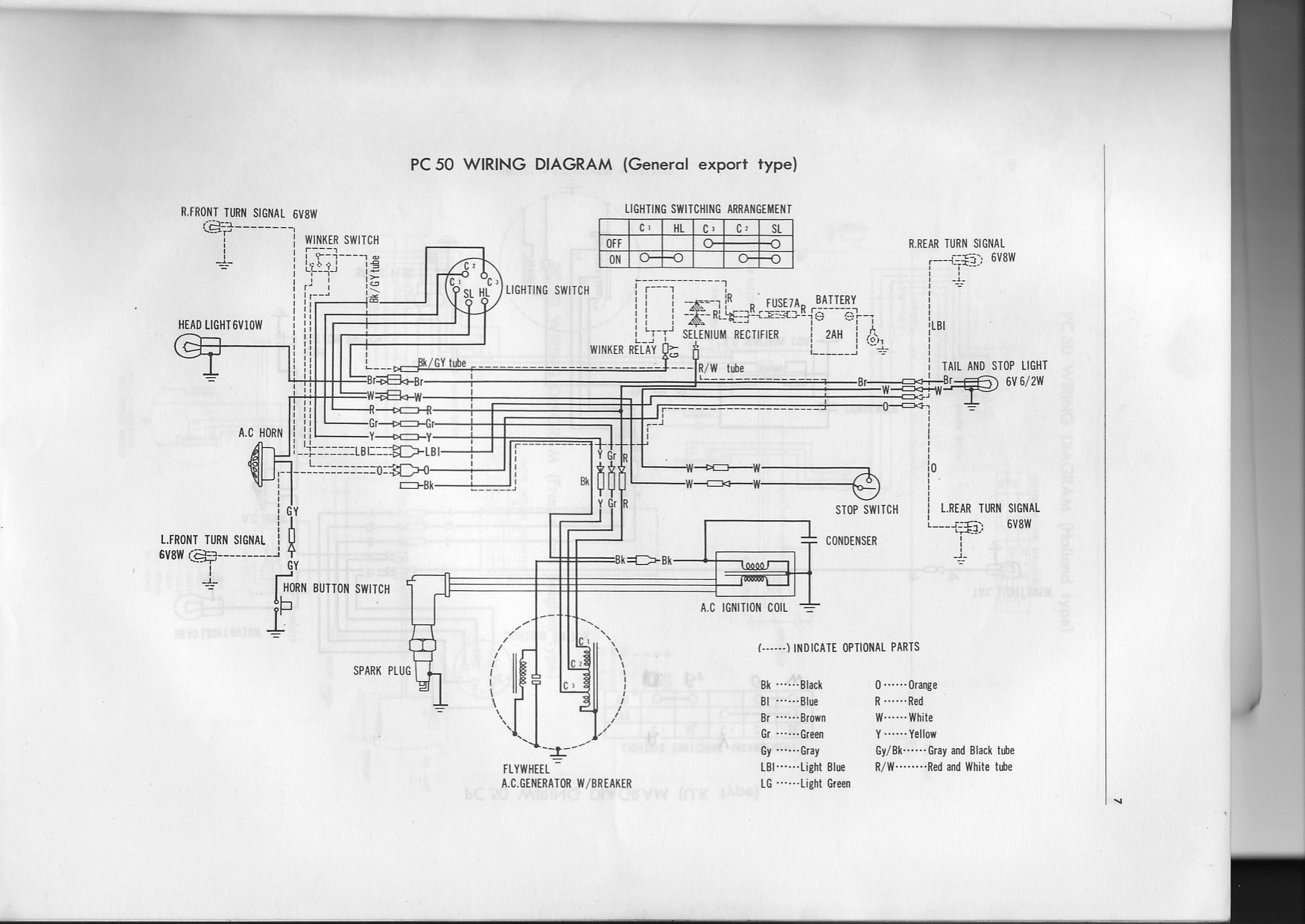 1988 Honda 200 Wiring Diagram Simple A Cdi Ignition For 185s Vtwctr 200e