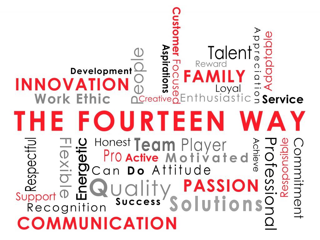 The Fourteen Way