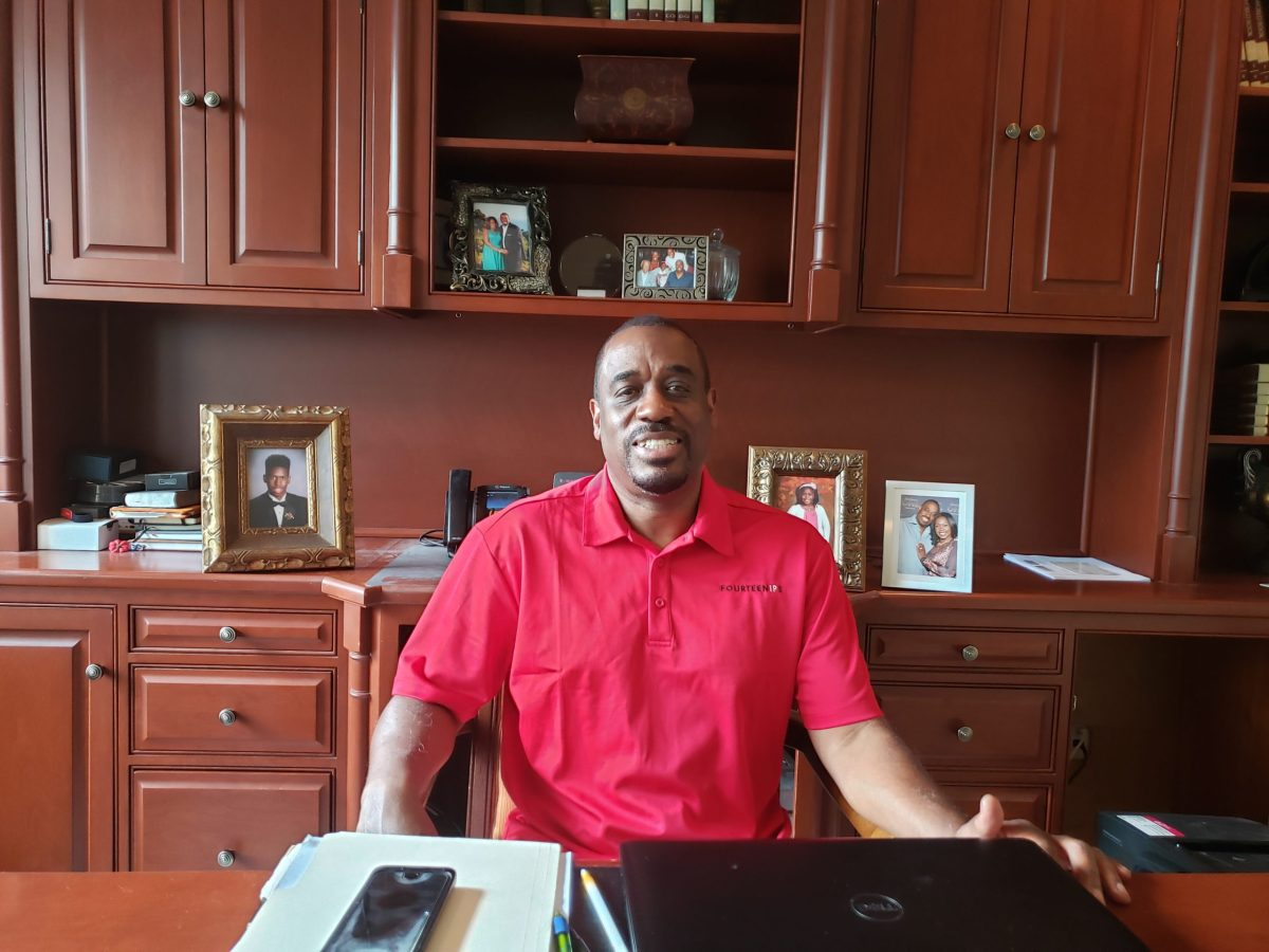 our business development director