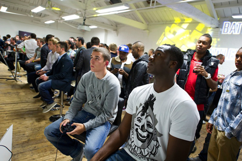 Celebrity Gaming Club FIFA12 Event