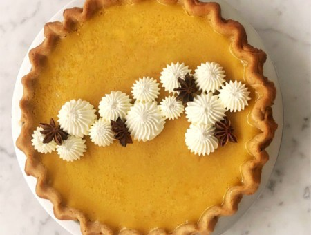 Extra Silky Pumpkin Pie for Thanksgiving