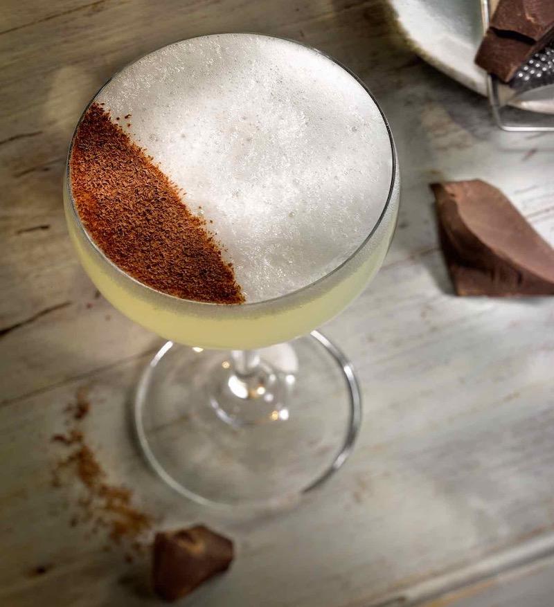 Dark & Pear Cocktail