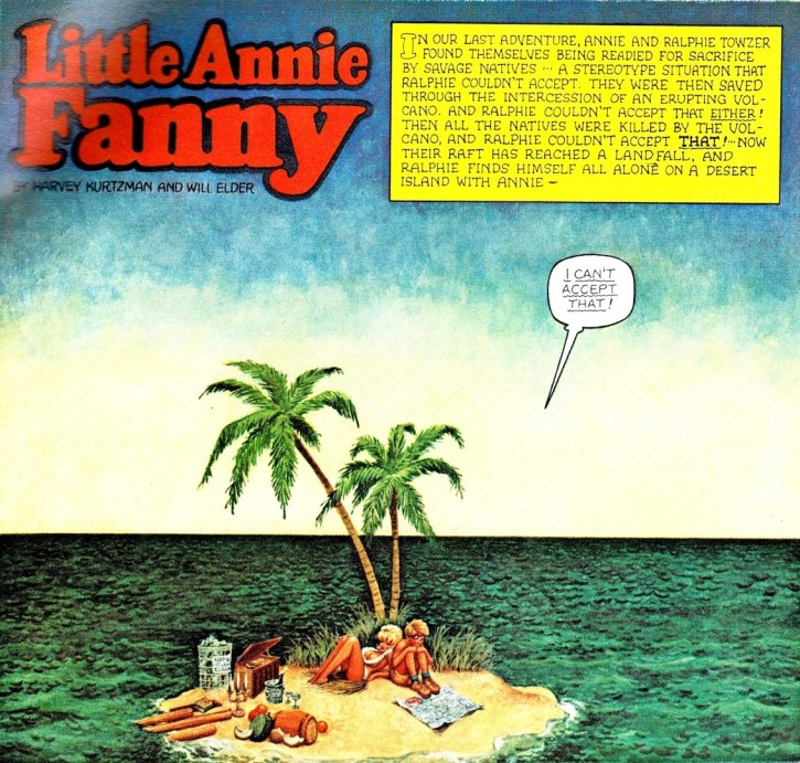 Little Annie Fanny on deserted island no 01
