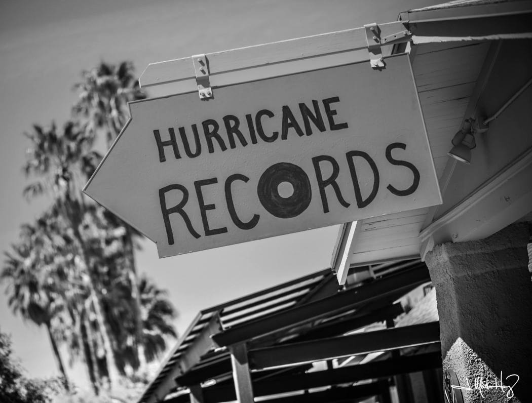 Hurricane Records sign. Photo courtesy of J. Martin Harris photography.