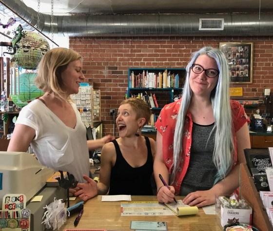 Future Owners of Antigone Books in Tucson, Az.