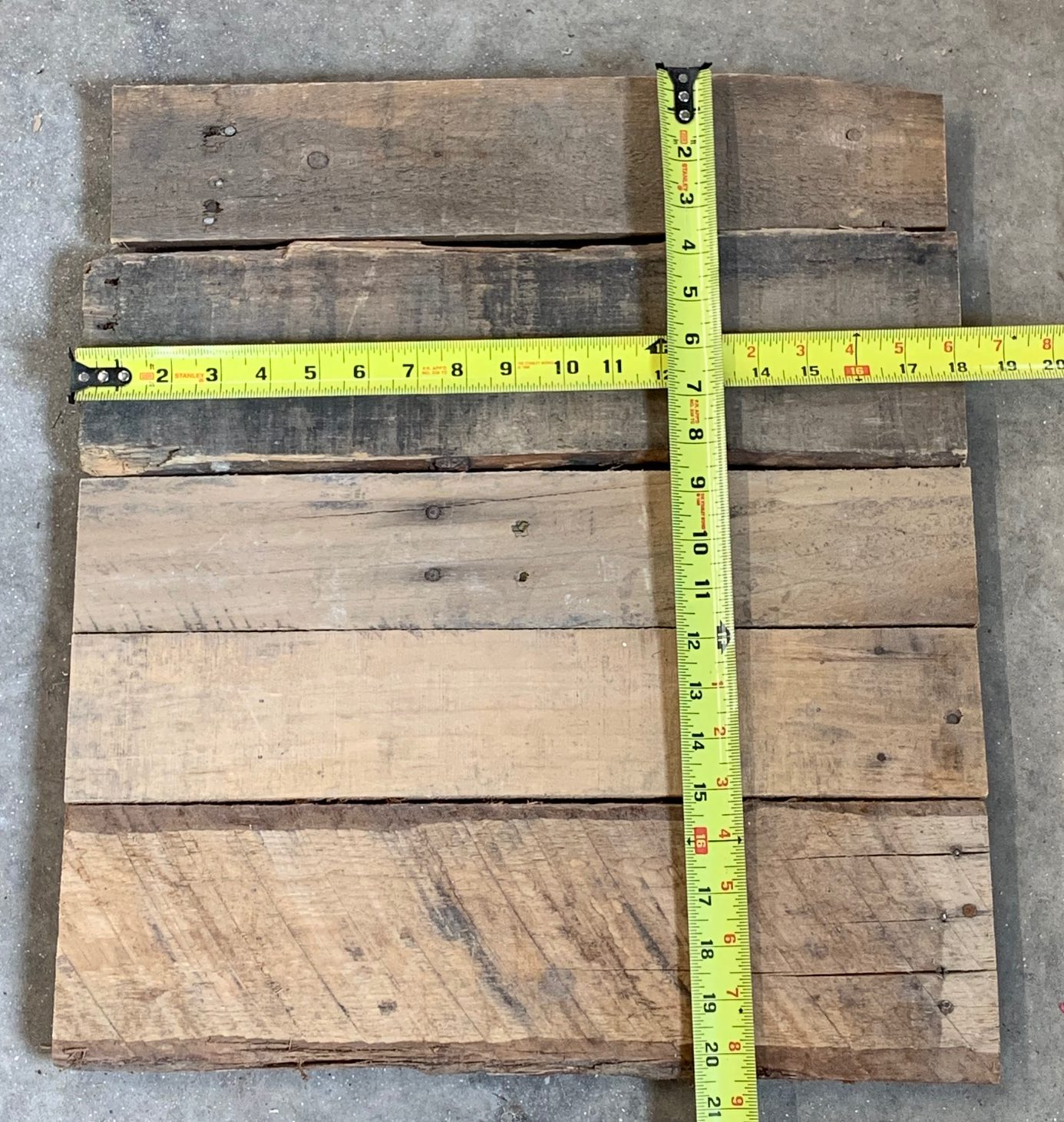 Unfinished reclaimed/pallet wood sign - Fourth East Craft CO.
