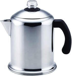 Image of Farberware's 50124 Classic Stovetop Percolator Review, rated best overall by Fourth Estate.