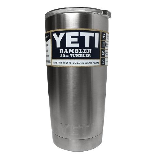 Image of Yeti's Rambler insulated tumbler.